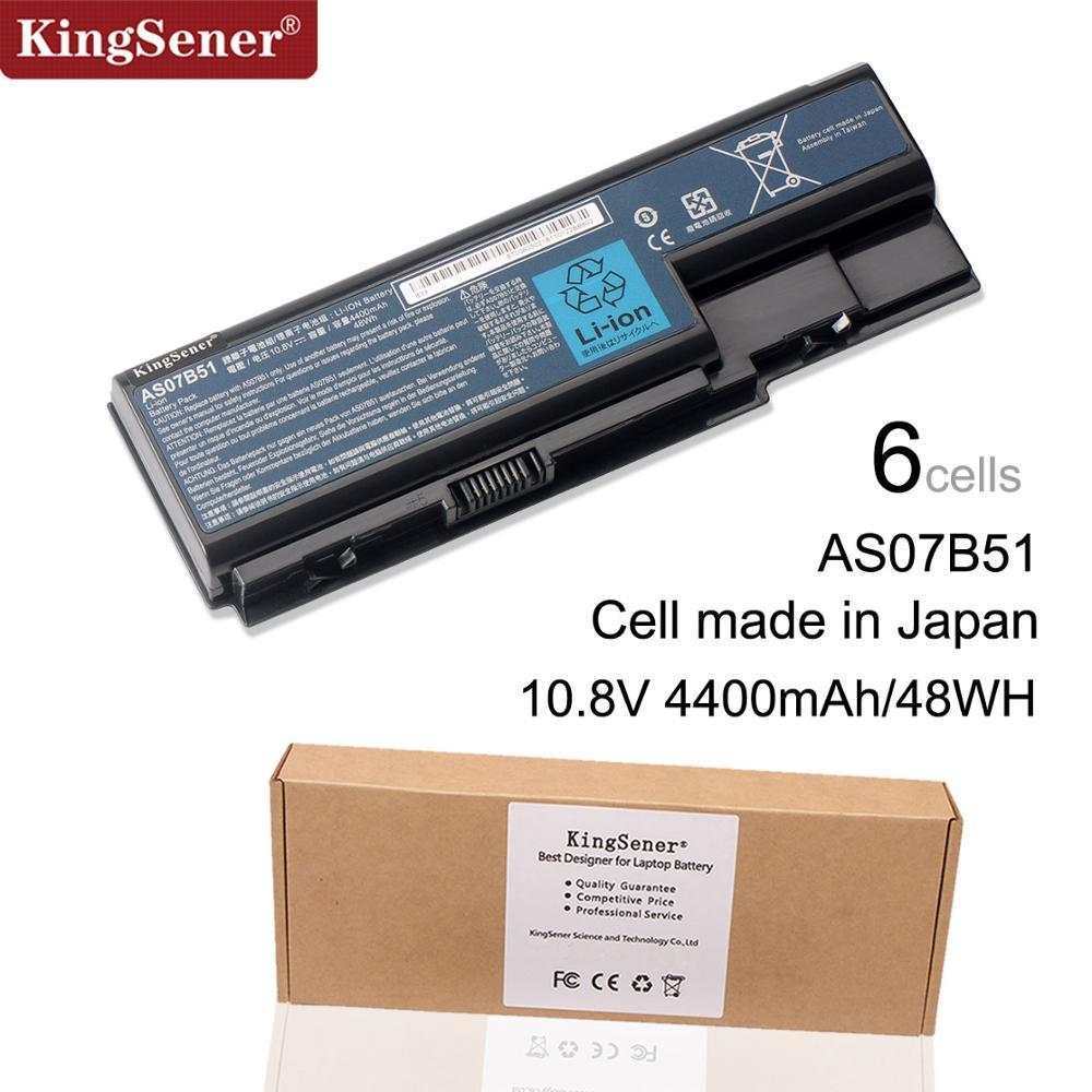 AS07B51 nueva batería para Acer Aspire 7230, 7235, 7330, 7520, 7530, 7720, 7730 AS07B31 AS07B41 AS07B61 AS07B71 AS07B32 AS07B42 AS07B52 JIGU batería del ordenador portátil para Acer AS07B31 AS07B32 AS07B41 AS07B42 AS07B51 AS07B52 AS07B71 AS07B72 AS07B31 AS07B51 AS07B61