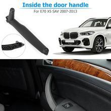 1 шт. ручка двери автомобиля для BMW E70 правая дверь внутренняя ручка для BMW E70 X5 аксессуары панель Потяните Накладка для BMW E71 E72 X6 SAV ручка дверь е71 правая правая ручка Е70 ручка дверь е71 ручка bmw x5 e70