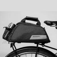 사이클링 핸드백 숄더 캐리어 바구니 백 시트 11l 선반 자전거 자전거 블랙 백