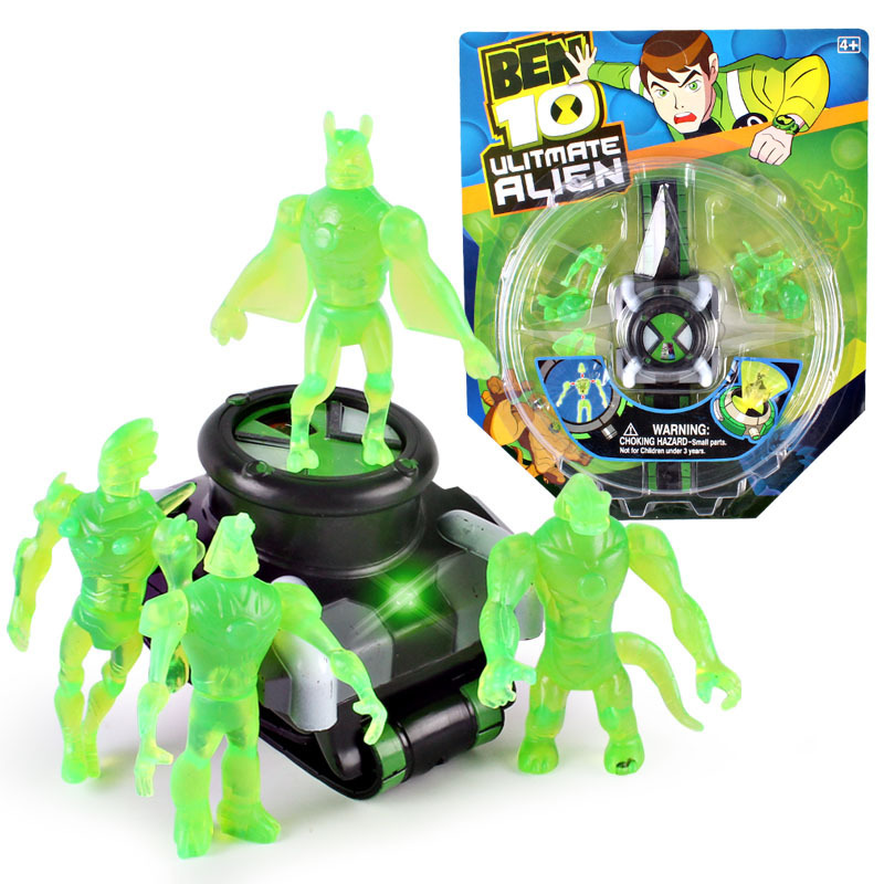 Ben 10 Omnitrix Projector Watches Toys Ben 10 Action Figure Toys Projector Medium For Children Birthday Party Gift Dropshipping