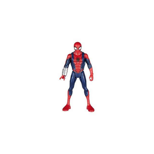 Фигурка Hasbro Avengers Marvel Spider-Man Человек-паук с интерактивным аксессуаром, 15см