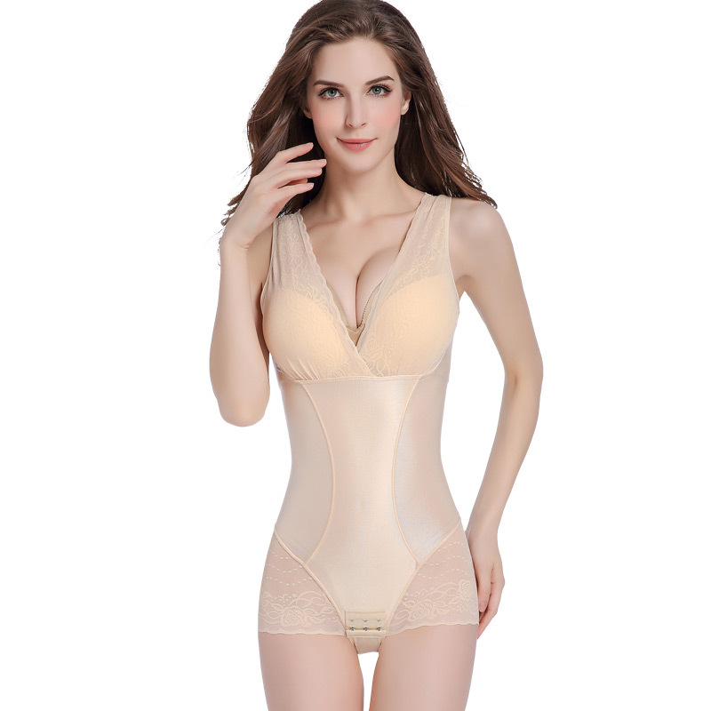 Shapewear Camisole BodySuit with Built in Bra