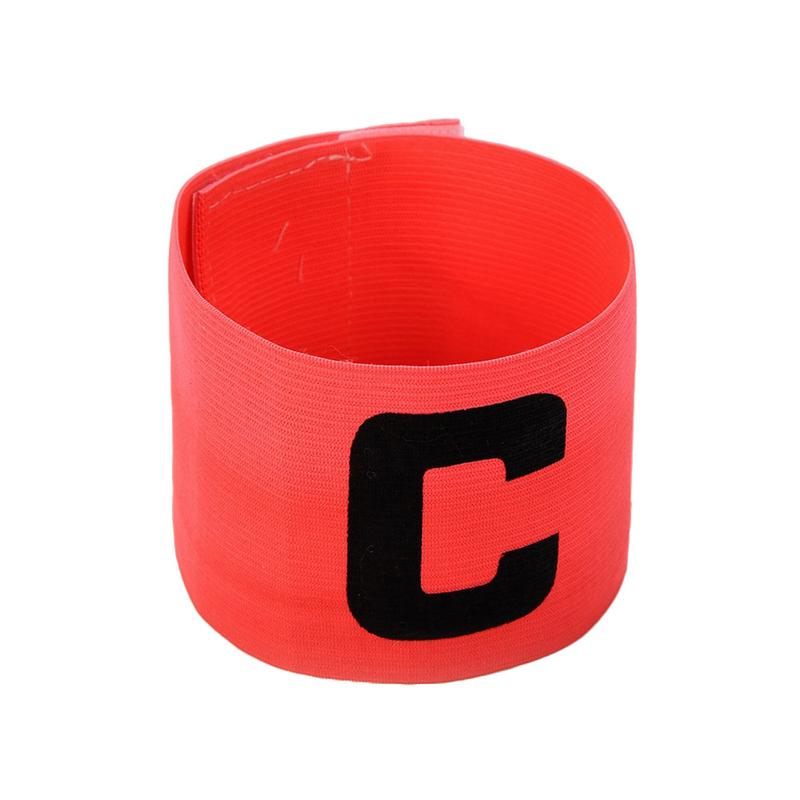 Football Team Captain's Armband Paste Winding Type C Word Mark Good Quality Colorful Cheap Price Useful For Football