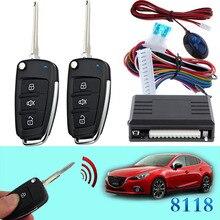 Keyless entry system car flip key for mazda #27 remote central lock locking system CHADWICK 8118 Intelligent remote control led
