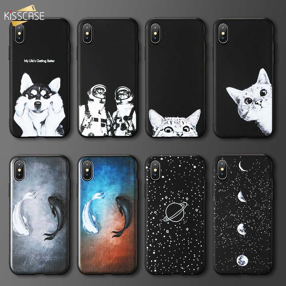Cute Animal Case For Redmi note 8 7 Back Case Soft TPU Phone Case for Redmi note 4 4X 6 7 8 PRO mi 8 9 lite Case Cover