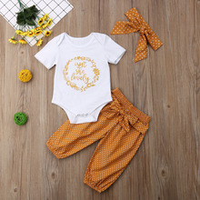 baby christmas outfits thanksgiving outfit  floral fashion clothes girl newborn cotton clothing my first girls