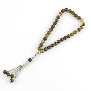 Image 5 - Original 33 Beads 8mm Natural Stone Muslim Rosary Islam Tasby Allah Prayer Rosary Tesbih Islamic Bracelet