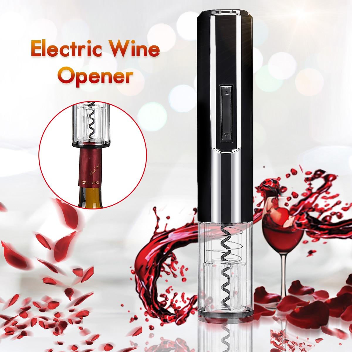 Cork Cutter: Stylish Automatic Electric Bottle Opener Wine Cutter Cork