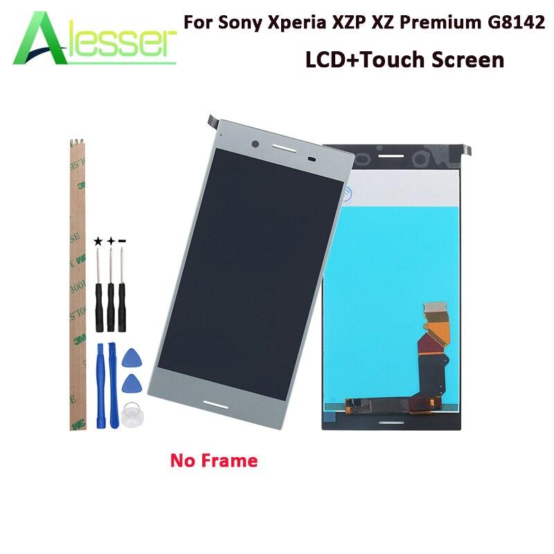 Alesser pour Sony Xperia XZP XZ Premium G8142 écran LCD et écran tactile testé 5.5 ''pour Sony Xperia XZP XZ + outils + adhésif