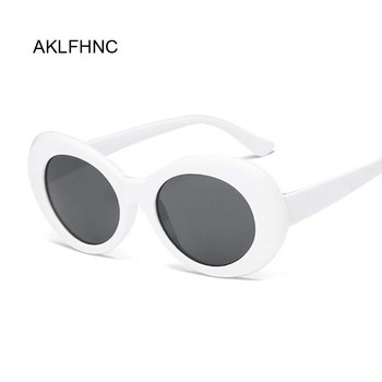 Cateye Women Sunglasses Classic Retro Vintage Oval Sunglasses For Women Brand Designer Eyewear Top Quality UV400 Oculos