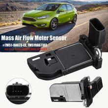 Sensor de flujo de aire de masa 7M51 9A673 EE/7M519A673EE /7M51 12B579 BB para Ford Focus MK2 II MK3 III para C MAX 1,6 2,0 TDCI