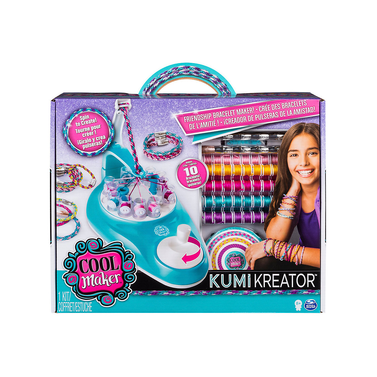 SPIN MASTER Craft Toys 10502334 For Children Kits For Creativity Boy Girl Play Game Development