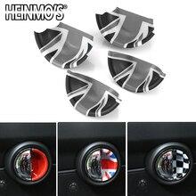 Наклейки для MINI Cooper F56 F54 F55 F60 Countryman, автомобильные наклейки для MINI Cooper, аксессуары для дверных ручек, наклейки для MINI F56