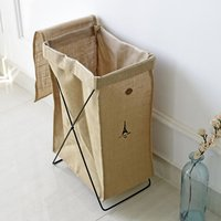 Waterproof Jute Storage Cassette holder dirty clothes Barrel health and beauty personal care products