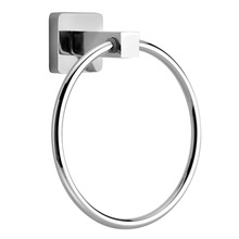 Stainless Steel Towel Ring Holder Bathroom Wall-Mounted Towel Rack Hanger Bathing towel holder shelf Bathroom Hardware Set stainless steel 304 bathroom towel rack double bath towel holder shelf bathroom towel holder shelf chorm bathroom hardware 60cm
