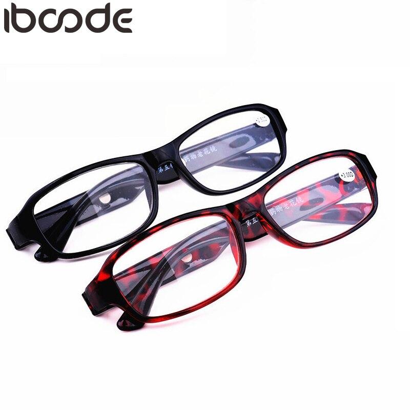 Iboode Fashion Hyperopia Magnet Reading Glasses Women Men Ultra-light Resin Clear Lens Mirror For Female Male Presbyopic Glasses