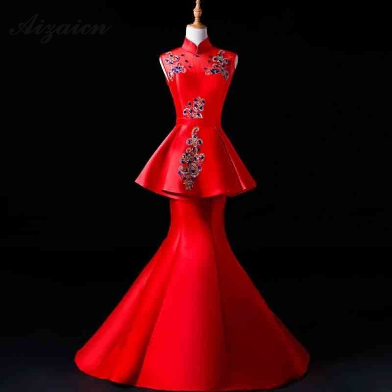 Wedding Gown Fashion Show: Aliexpress.com : Buy Oriental Evening Dresses Long Mermaid
