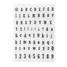 Силиконовые штампы прозрачные печати прозрачные штампы для DIY Письма Скрапбукинг Фотоальбом открытка изготовление декоративных бумажных открыток