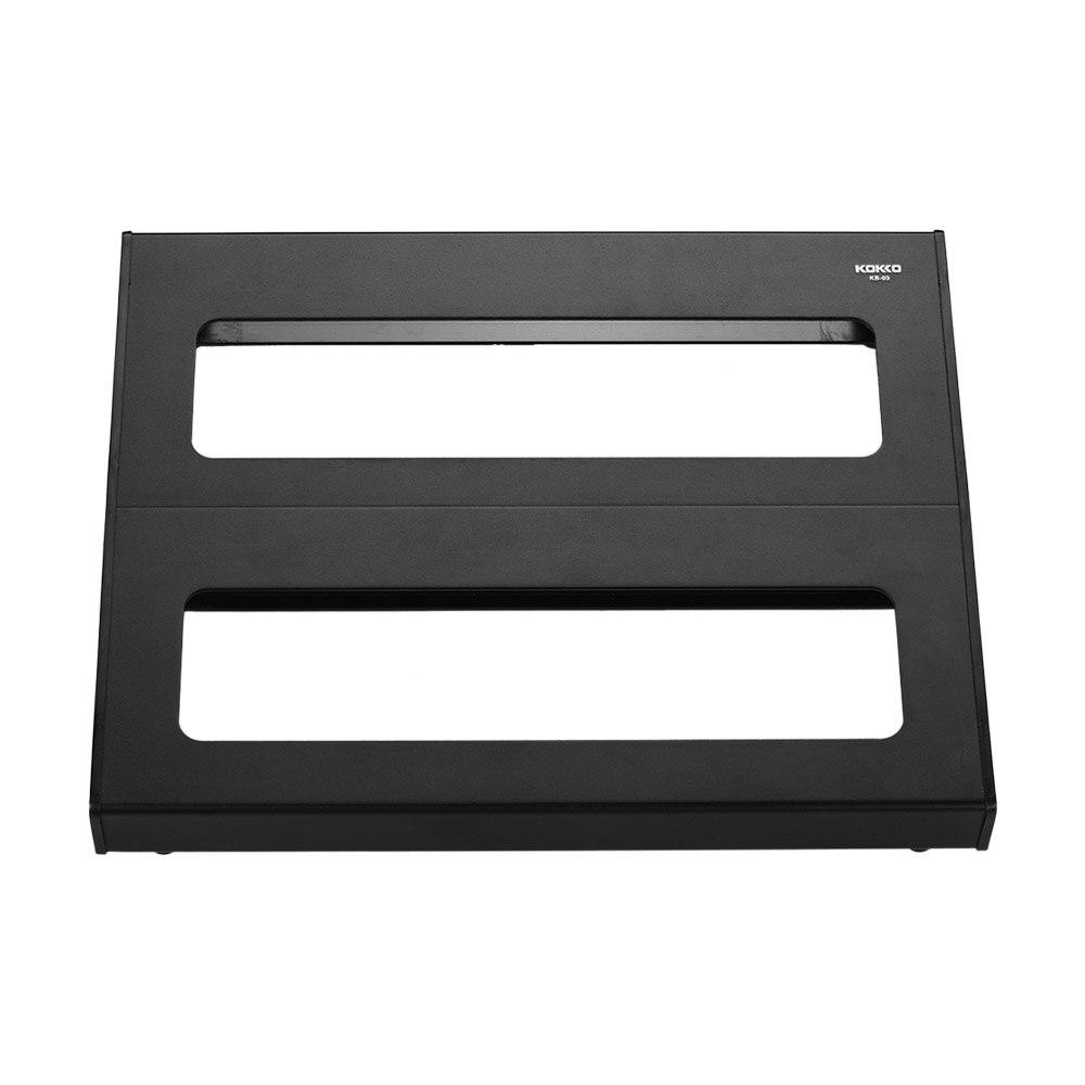 buy kokko kb 03 portable guitar effect pedal board pedalboard aluminum alloy. Black Bedroom Furniture Sets. Home Design Ideas