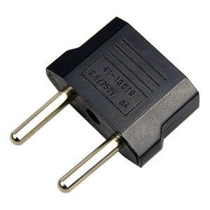 Image 4 - 5 pièces adaptateur de prise prises de Conversion adaptateur ue à ue/AU/US adaptateur de voyage prise électrique cordon dalimentation chargeur prises de courant