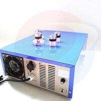 Display Digital 1500 W Motorista Fonte de Alimentação de Freqüência de Varredura Ultra-sônica 40 KHz Gerador de Limpeza Ultra-sônica
