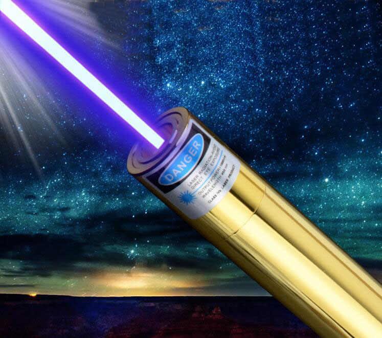 Высокая мощность военный 1000000 м 450нм фонарик мощный регулируемый фокус Синяя