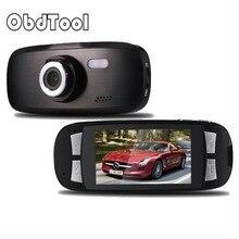 Видеорегистраторы для автомобилей 2,7 «ЖК-дисплей автомобиля Камера черный ящик GS108 с сжатия H.264 изображение Технология 1080 P G-Сенсор регистраторы G1W gps ДРВ