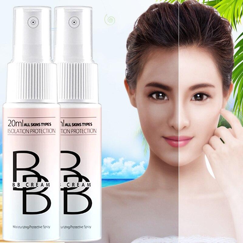 Frauen Gesicht Basis Foundation Bb Creme Mädchen Gesichts Concealer Lang Anhaltende Feuchtigkeitscreme Whitening Lotion Spezieller Kauf Bb & Cc Cremes