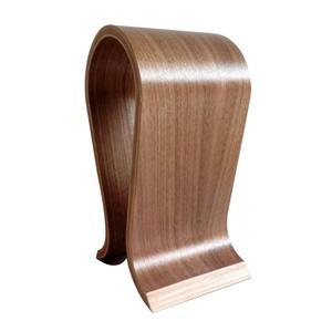 Image 5 - VODOOL עץ אוזניות Stand U צורת אוזניות מחזיק קלאסי אגוז גימור אוזניות Stand קולב לבית משרד סטודיו שינה