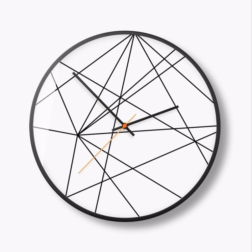 New 3D Wall Clock Abstract Circular Digital Wall Clock Modern Design 30cm/35cm Quartz Super Silent Duvar Saati For Living Room  New 3D Wall Clock Abstract Circular Digital Wall Clock Modern Design 30cm/35cm Quartz Super Silent Duvar Saati For Living Room