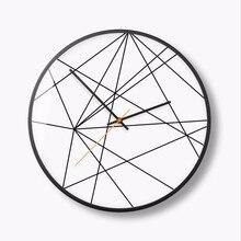 New 3D Wall Clock Abstract Circular Digital Modern Design 30cm/35cm Quartz Super Silent Duvar Saati For Living Room