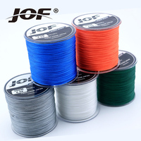 JOF Super Strong Carp Fishing Line 1000M 8 Strands Braides Fly Lines Colorful 100% PE Fishing Wire for Ocean Boat Fish
