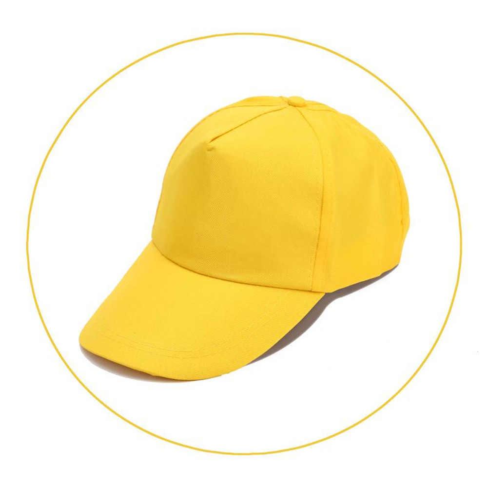Màu Vàng Đen Nam Nữ Kẹo Màu Áo Chống Nắng Tôn Bóng Chày (2019 Thời Trang Có Thể Điều Chỉnh Mũ Lưỡi Trai