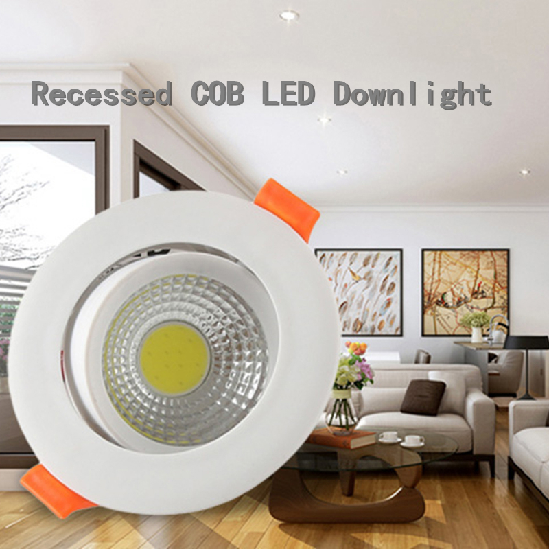 5w High Quality Modern Cob Led Downlights Ceiling Recessed