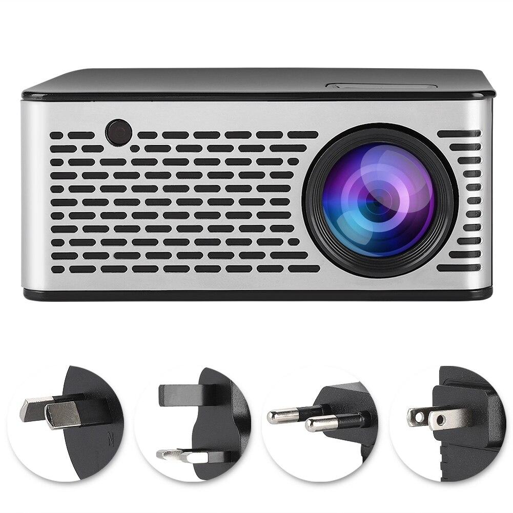 Mini Accueil Portable HD 1080 P Smart projecteur led HDMI USB Home Cinéma 100-240 V