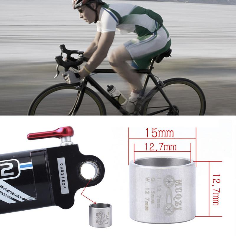 DU Bushing For Mountain Bike Rear Shock Absorber Self-Lubricating Du Bushing Bushing Stainless Steel 12.7*15*12.7mm