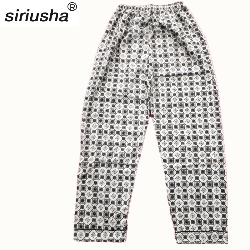 2019 Sale Lounge Heren S103 Sleep Bottoms New Spring Summer Autumn Thin Section Knitted Cotton Home Pants Comfortable Trousers