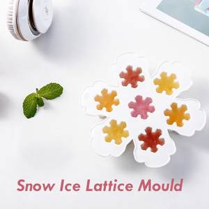 ISHOWTIENDA 1pc Ice Cube Maker Ice Cream Popsicle Molds