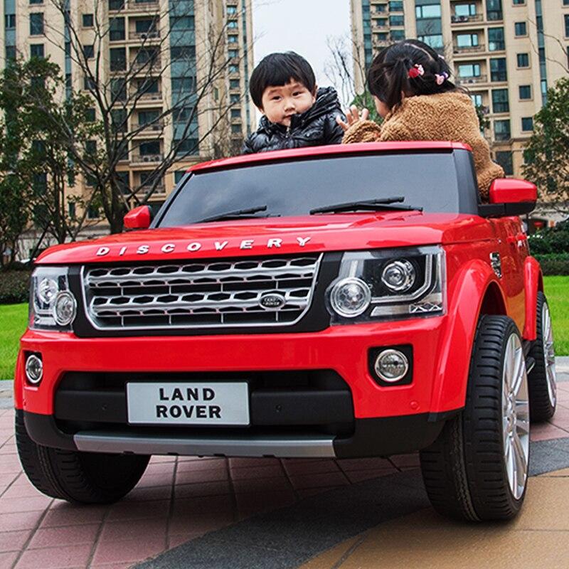 Автомобиль с мотором, четыре колеса, вездеходный, с дистанционным управлением, для ребенка, супер двойные игрушки для вождения, автомобиль может сидеть, купе - 4