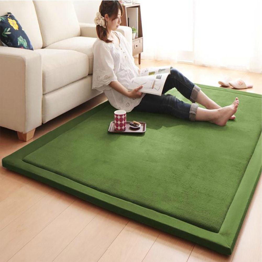 80X200CM tapis en molleton de corail tapis de jeu pour enfants jouer ramper Gym couverture tapis de sol décoration