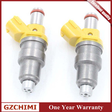 1001-87650 Fuel Injector Car Flow mathced gasoline nozzle injectors For Toyota MR2 Celica Supra 3SGTE EJ20 RB26DETT 4AGE 7MGE injector dynamics toyota corolla gts 4age id2000 fuel injectors 1983 83
