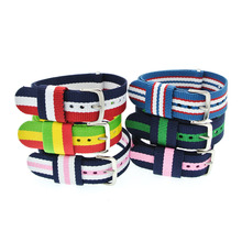Buy 2 Get 10% OFF| 20mm Colorful Nylon Watchbands Woven Watch Strap Bracelet Bandjes DIY Fabric Sport Watch Band Buckle WB001 buy 2 get 10% off 20mm wholesale stripe cambo solid black watch 20 mm nato fabric nylon watchbands strap bands buckle