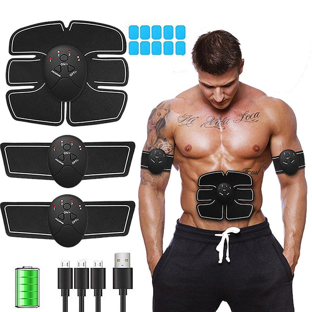 Instrument de stimulateur musculaire Rechargeable intelligent pour équipement de Fitness à domicile instruments abdominaux 9 niveaux