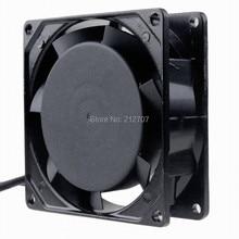 Free Shipping 1pcs AC 220V 240V 9CM 92MM 9225 92x92x25mm Industrial cooling Fan Sleeve Bearing