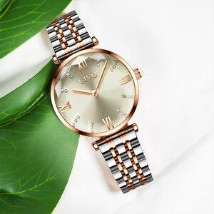 Image 3 - CIVO Fashion Girl Watch Luxury Crystal Silver Steel Dress Ladies Watches Waterproof Womens Bracelet Wristwatch Clock For Woman