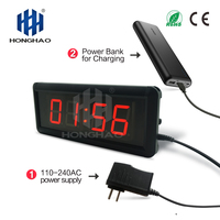 gym interval timer Led timer digital clock wall clock led countdown timer
