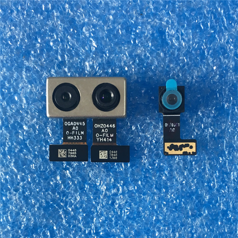 Original For Xiaomi A1 MIA1 Mi A1 MI 5X Axisinternational Back Big Main Camera Module And Front Small Camera Module Flex CableOriginal For Xiaomi A1 MIA1 Mi A1 MI 5X Axisinternational Back Big Main Camera Module And Front Small Camera Module Flex Cable