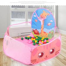 Foldable Outdoor Indoor Kids Game Play Toys Tent Children Portable Ocean Ball  Pits Pool Tent House Play Toy Birthday Gift