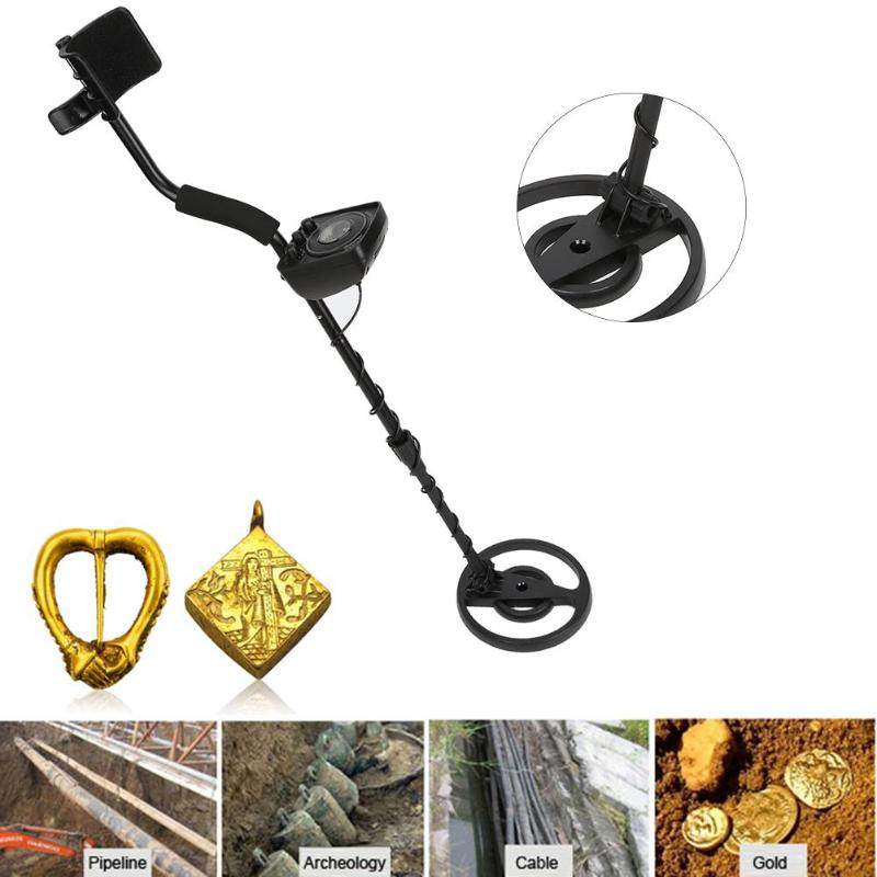 GC1065 Waterproof Search Coil Metal Detector With All-Metal Discrimination