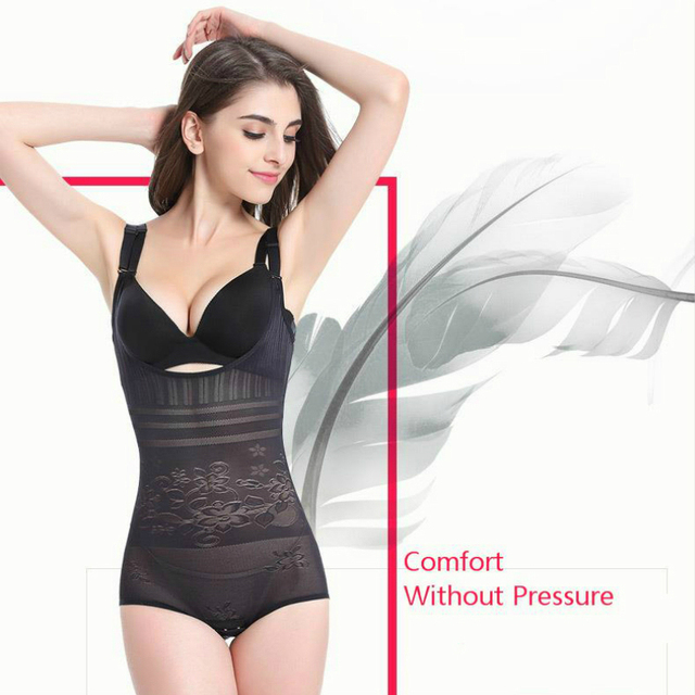 Women Post Natal Postpartum Slimming Underwear Body Shaper Recover Bodysuits Shapewear Waist Corset Girdle Black Khaki Lingerie 4
